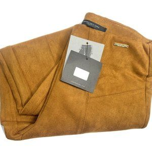 NWT Marc New York Andrew Marc Faux Suede Pants XS